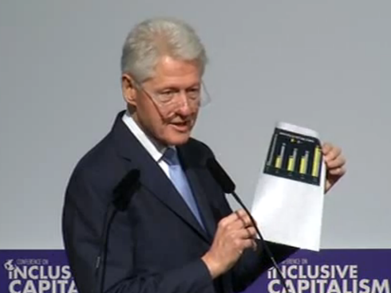 Clinton: Scotland Should Stay in the UK, Brussels isn't Important, and I'm Better than Reagan