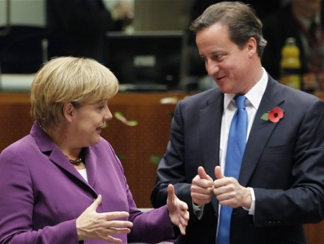 Merkel Will Block Cameron's Plan to Limit EU Migrants