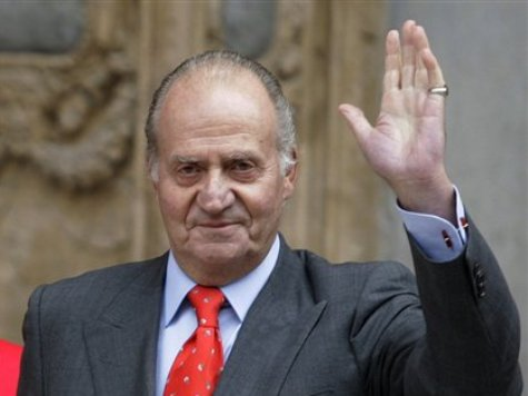 Spain's king attends last parade before abdication