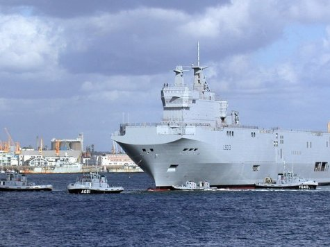 Congressmen urge NATO to buy French high tech ships built for Russia