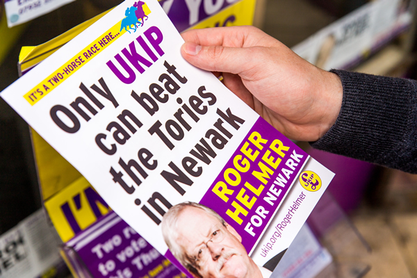 In Newark, UKIP launches assault on parliament