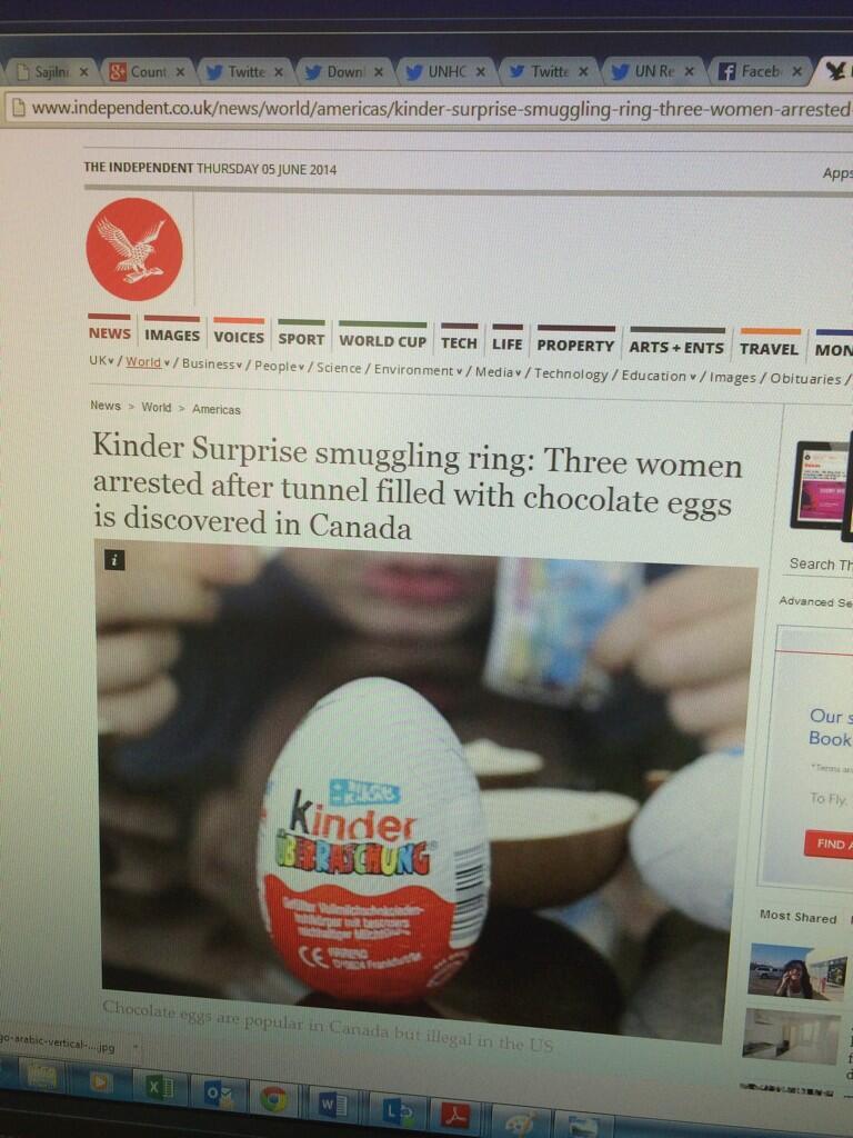 Independent Newspaper Falls for Canadian Kinder Egg Satire, Pulls Story