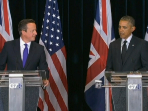 Obama: Scotland Should Stay in the UK, UK Should Stay in the EU