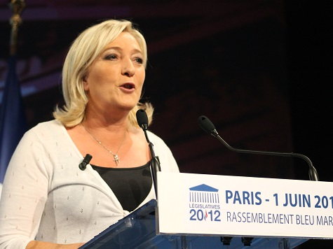 Le Pen says EU 'catastrophic' foreign policy is controlled by US
