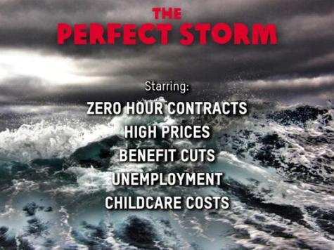 Oxfam Criticised Over 'Left-wing' Poster