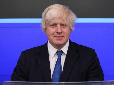 London Mayor Boris Johnson Agrees to be Blasted with Water Cannon