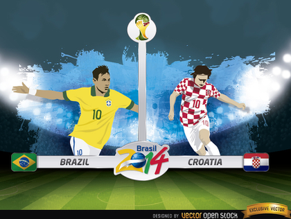World Cup Opening Match: Plucky Croatia vow to Attack Brazil