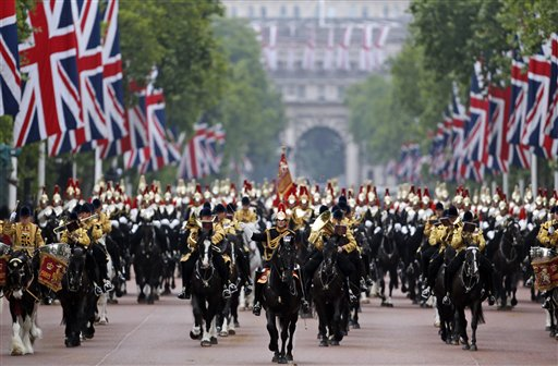 Happy Birthday Your Majesty: Trooping of Colour for Queen's 88th