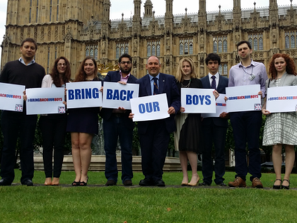 British MP and Activists Join #BringBackOurBoys Campaign for Israeli Teenagers