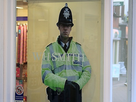 Police Spend £50,000 Replacing Real Officers With Cardboard Cut Outs