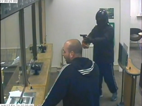 WATCH: Robber Thwarted After Man Realises His Gun is Fake