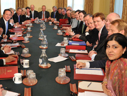 Cameron Has Created A War Cabinet