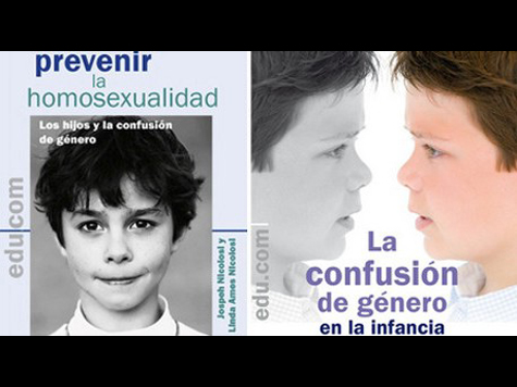 Spaniards rage as American books tell them how to stop kids being gay