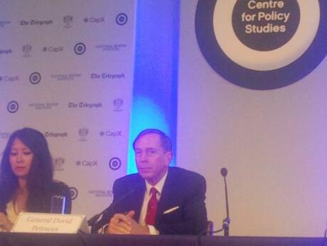 Petraeus: USA Needs Immigration Reform, Washington D.C. is A Security Threat to the Country