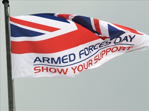 Left-Wing Activists Conspire To Disrupt Celebration of UK Armed Forces