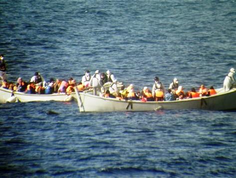 Hundreds of Migrants on Ship Stranded off Crete