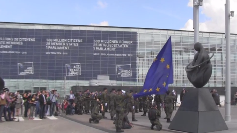 VIDEO: The EU's Militaristic 'Nationalism' on Display in Strasbourg