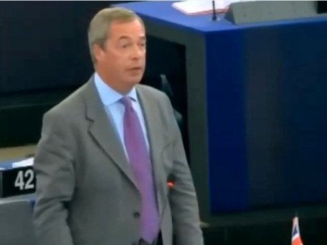 Farage: EU parliament Is 'Old Museum', Eurosceptics Are the Progressives Now