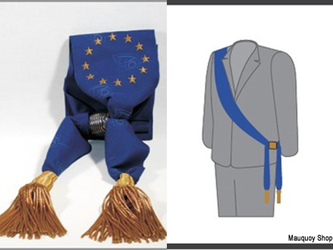 Pomposity in Five Sizes with Two Gold Tassels: MEPs Now Have 'Official Sash'