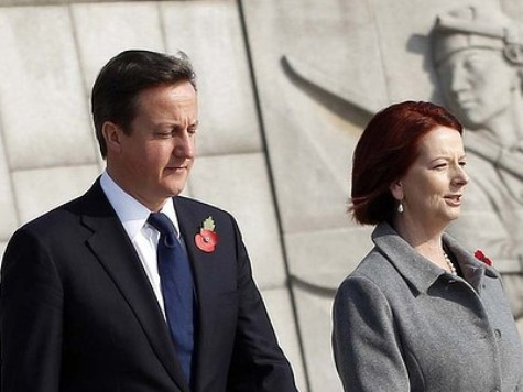 Cameron Praised Gillard for Introducing Carbon Tax