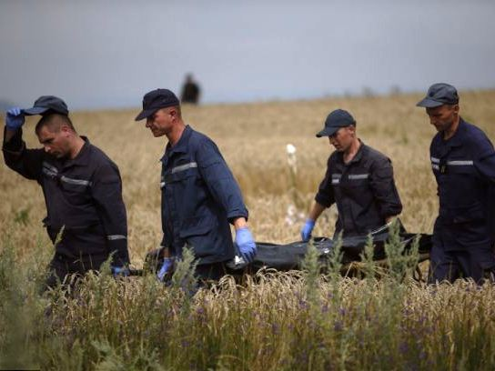 All Bodies Removed from Main MH17 Crash Site in Ukraine: AFP