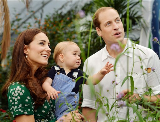 Big Milestone for Britain's Little Prince