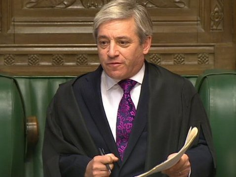 Bercow Accused Of Covering Up Expenses Abuse