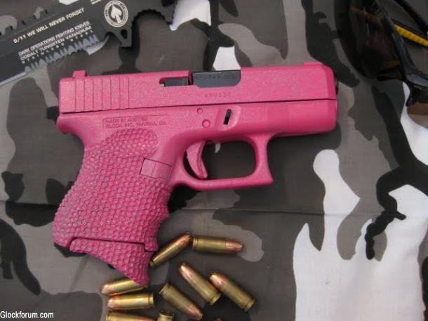 Glock Considers Launching Pink and Tiffany Blue Pistols for Female Market