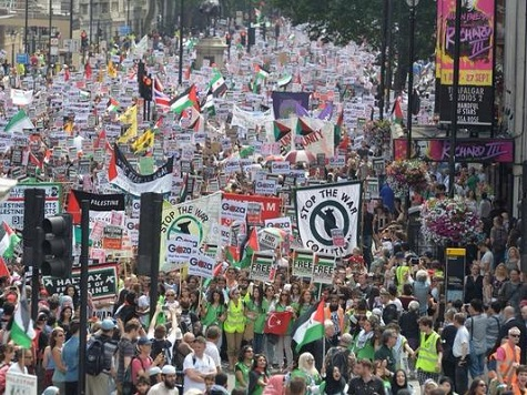 One Million Strong Gaza March Planned For Saturday in London