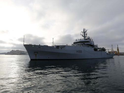 British Warship Brings 110 Citizens to Malta from Libya