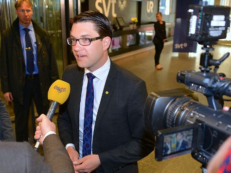 Sweden's Anti-Immigration Party Surges into Third in Weekend Elections