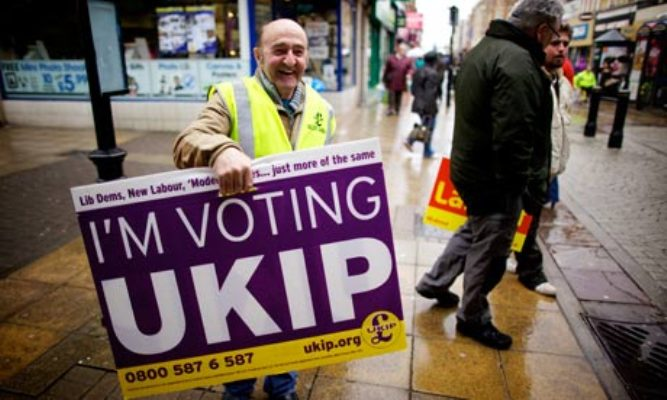 Poll: Ukip 'More Left Wing' than Conservatives