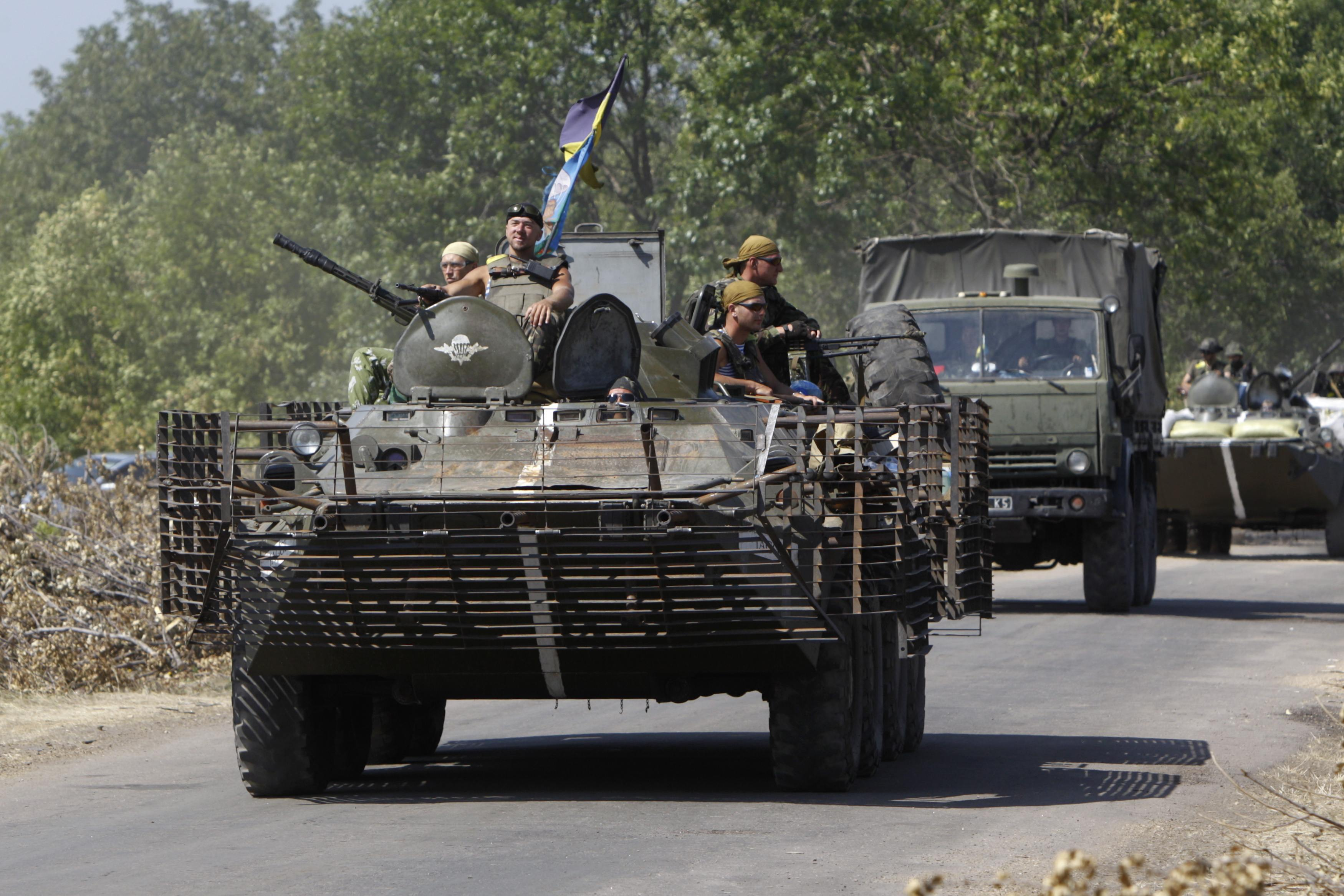 Ukraine's Forces Say Close to Taking Rebel-Held Donetsk