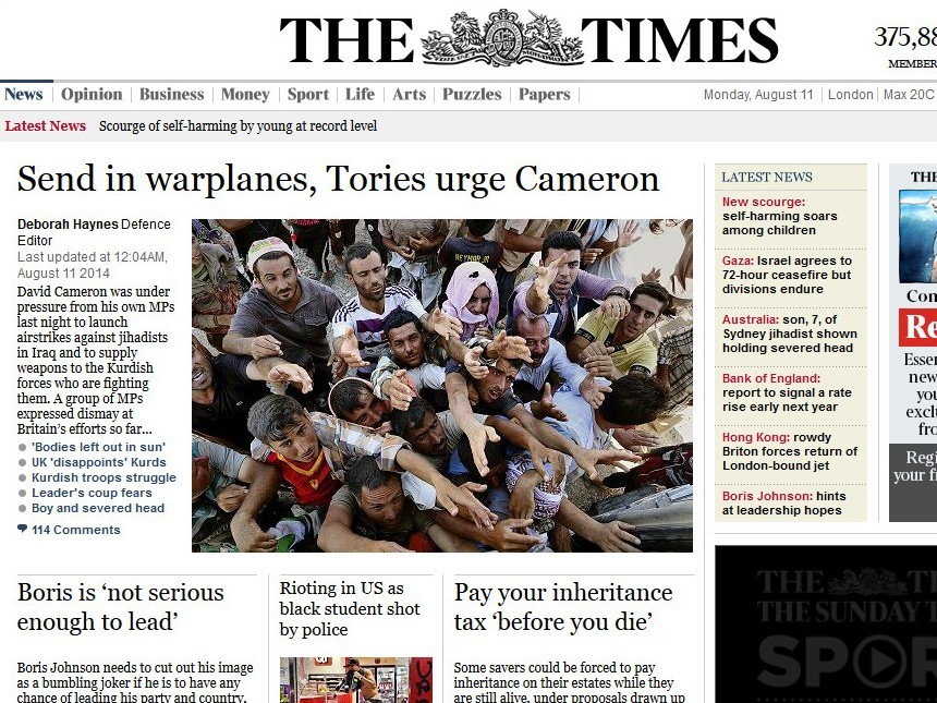 Why I Won't Be Renewing My Subscription to The Times