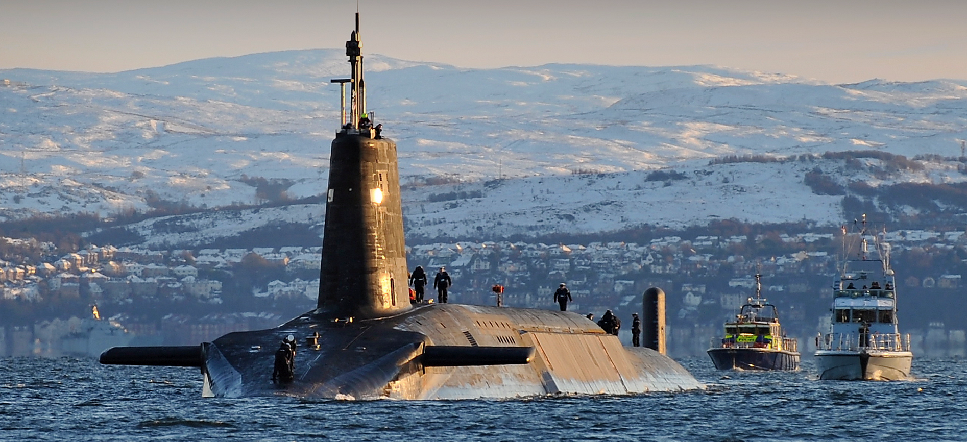 'Crimea Option' Could Solve Britain's Nuclear Weapons Problems from an Independent Scotland
