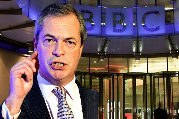 FARAGE: BBC Is Planning Yet Another Hit Job on UKIP