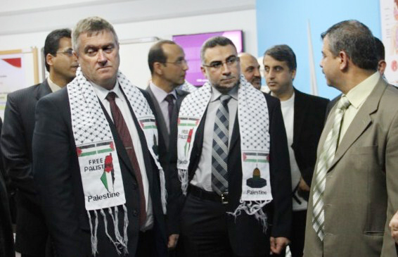 Free Palestine Scarf 'An Error' Claims Charity Following Breitbart London Exposé