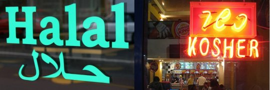 Kosher vs Halal is a Battle for the Soul of our Supermarkets