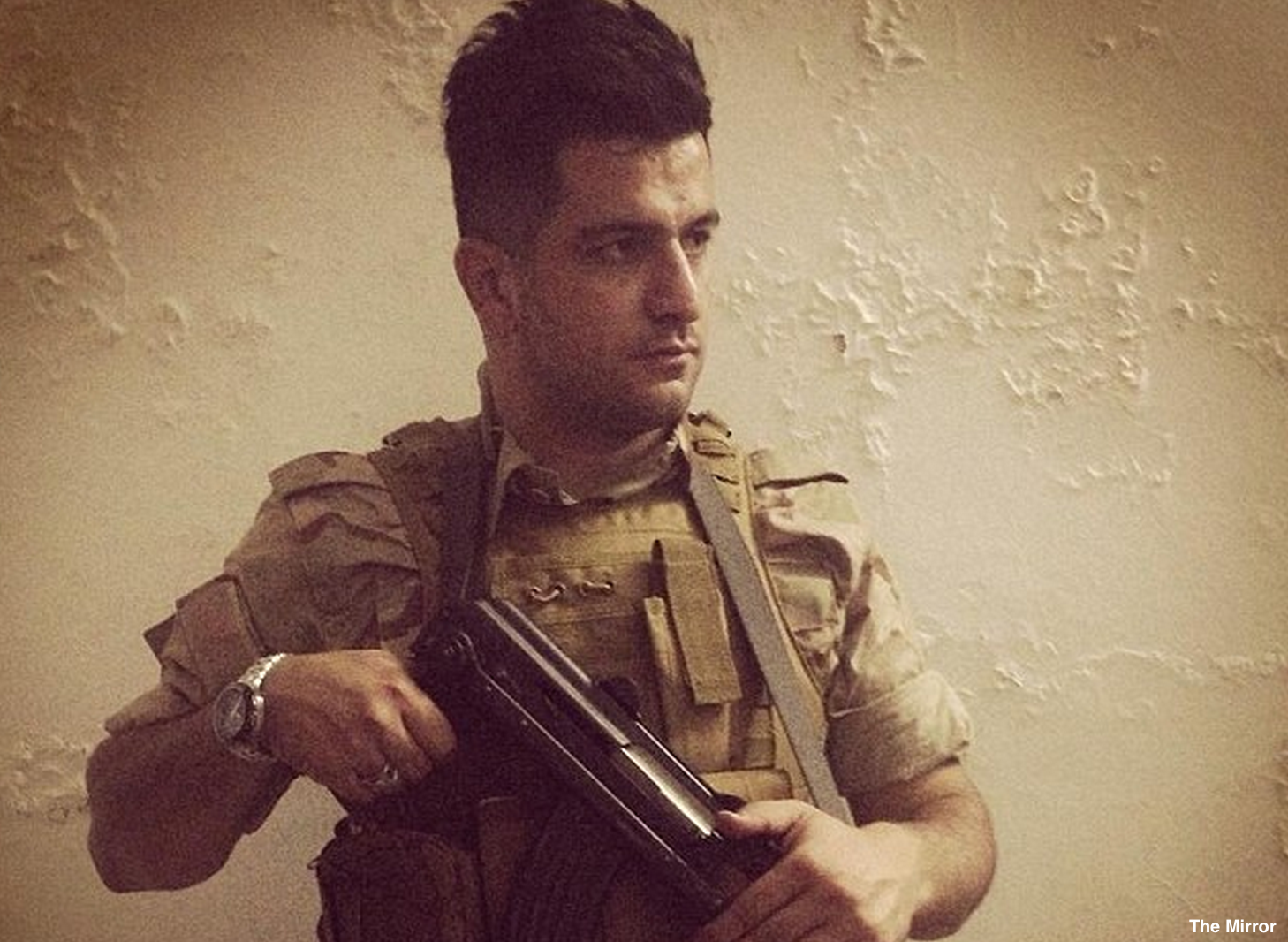 Kurdish Londoner Fights ISIS In Iraq: 'I'll Kill Them, They're Inhuman'