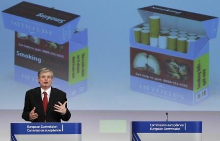 Challenge to EU Tobacco Law Backed by British Health Secretary