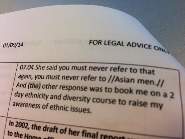UK Govt Employee Sent to 'Diversity Training' for Calling Pakistani Rotherham Rapists 'Asian Men'