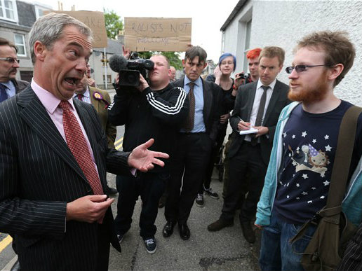 UKIP Rallies to Keep Scotland in the UK – Slams Lacklustre, Labour-led Campaign
