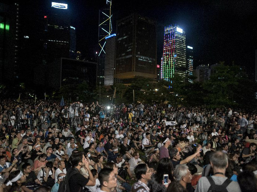 Pro-Democracy Protesters Storm Hong Kong Government Complex