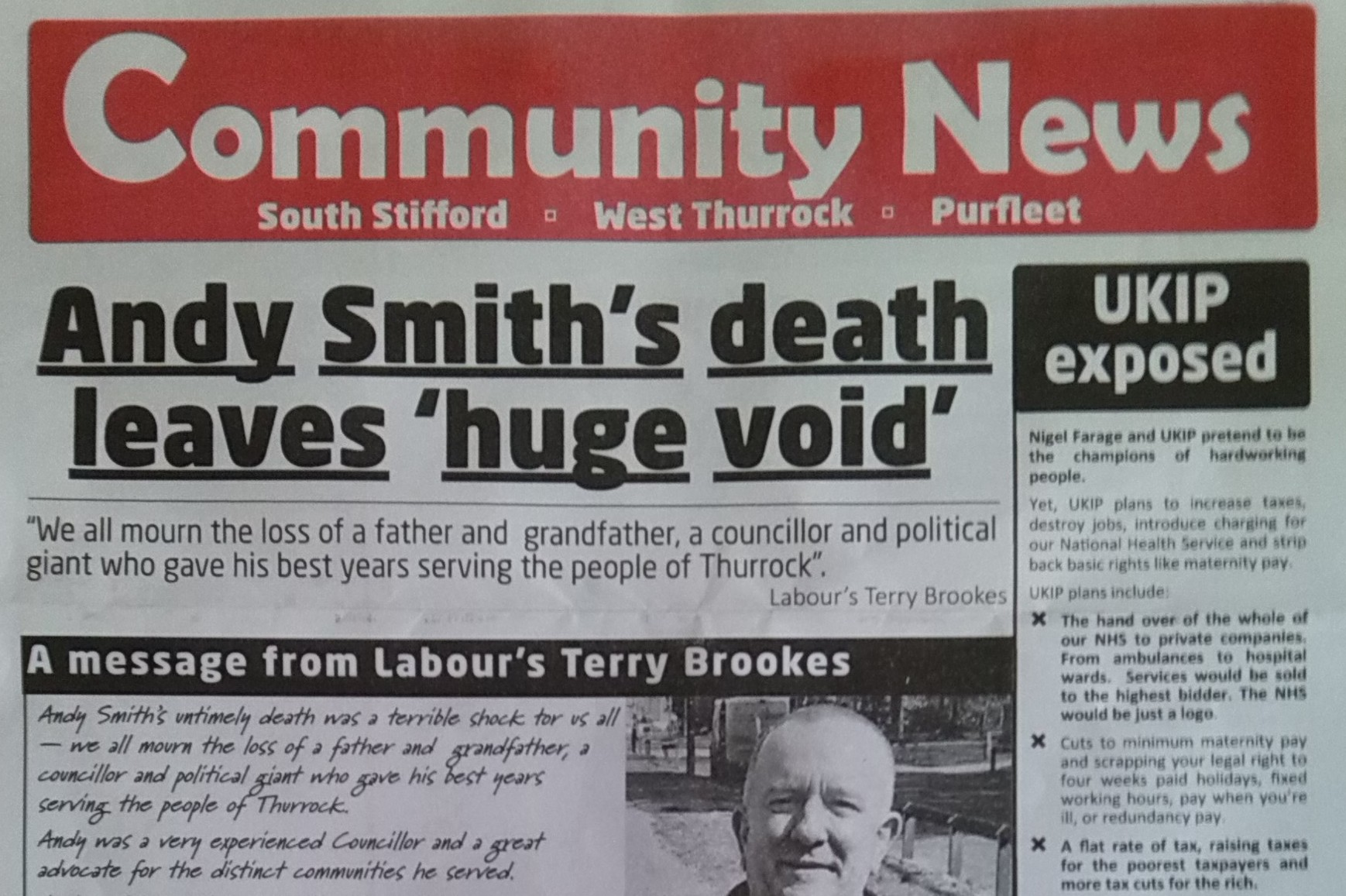 Labour Party Slammed for By-Election Campaigning Before Funeral of Local Official