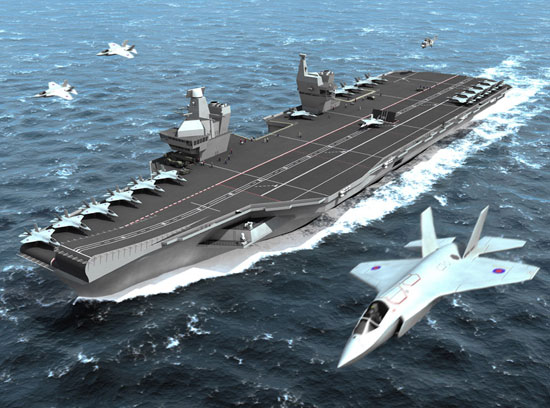 OFFICIAL: UK Building Two New Supercarriers in Major Military Ramp up