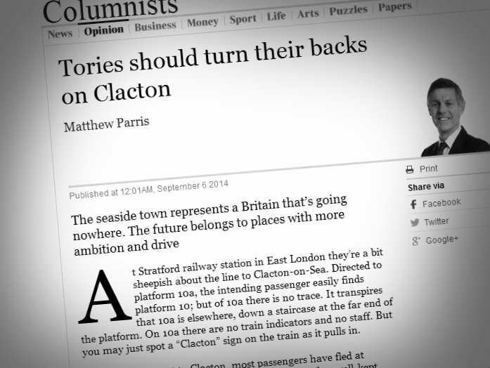 Matthew Parris Represents Everything that's Wrong with the Modern Conservative Party
