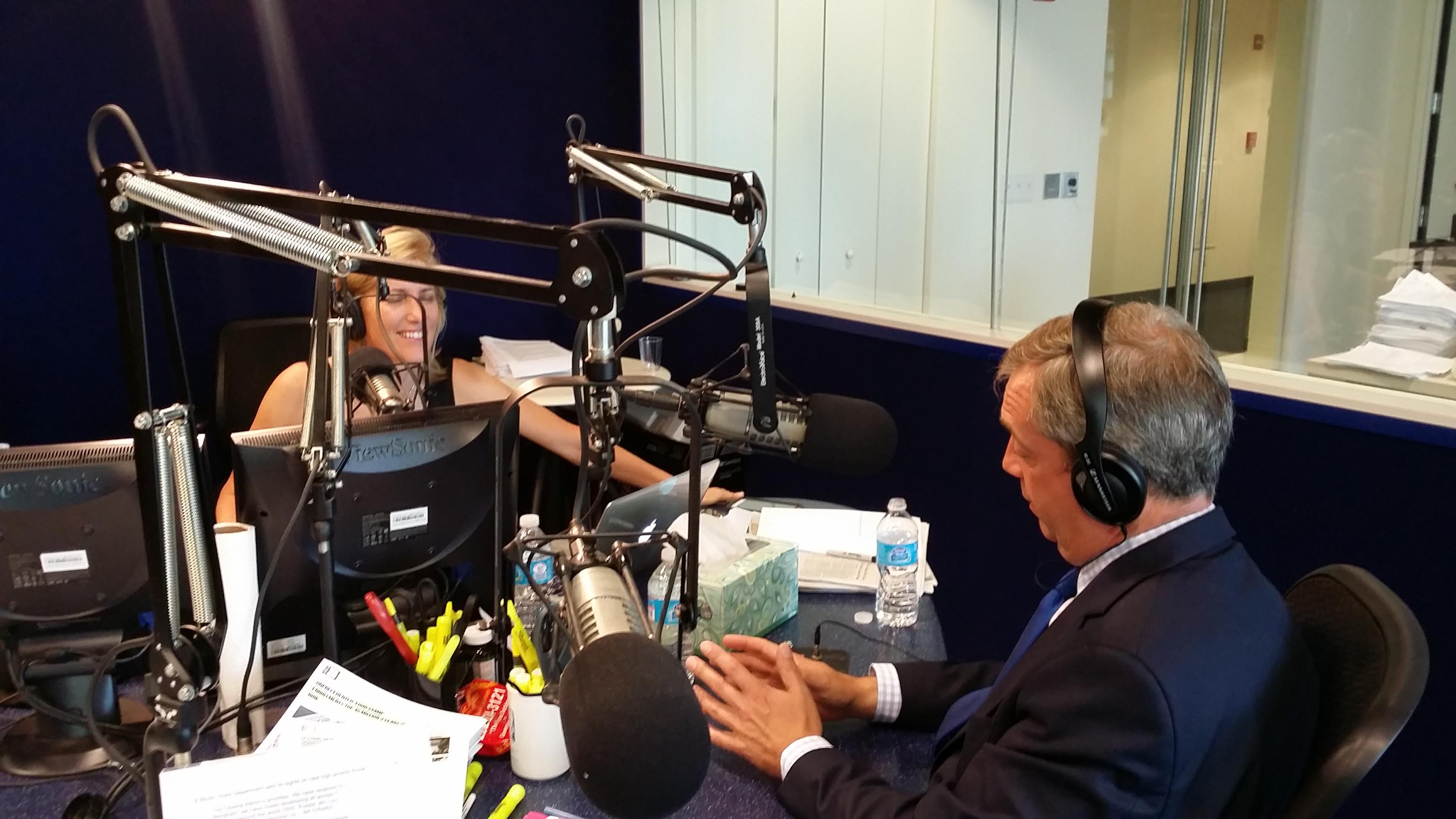 LISTEN: UKIP Leader Nigel Farage Slams EU, Piers Morgan, and Admits 'I'm Flawed' on Laura Ingraham Radio Show