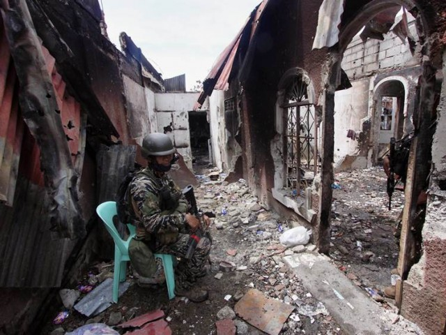 Enduring Pain after Muslim Rebel Attack on Philippine City