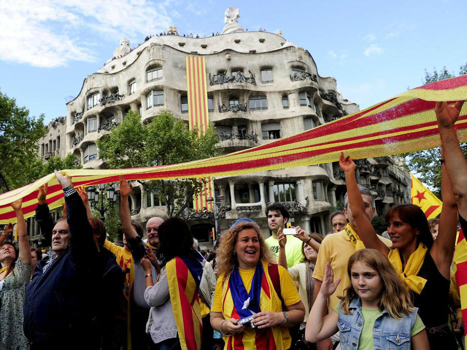 Scotland Independence Vote Fires Up Catalonia