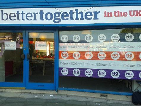 Hit And Move: Pro-Union Campaigners' Guerrilla War In Scotland